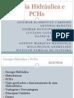 Hidráulica e PCHs