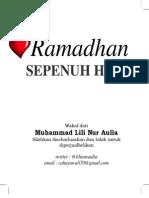 Ramadhan Sepenuh Hati - Lili Auliya