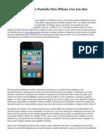 cuarenta Fondos De Pantalla Para IPhone Con Los Que Destacar Tus Apps