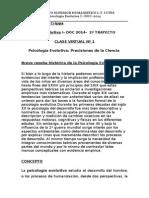 INTRODUCCION A LA PSICOLOGIA EVOLUTIVA