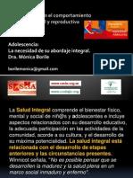 MONICA BORILE_Adolescencia La Necesidad de Su Abordaje Integral.