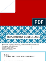 Oncology Conference - Hepatoblastoma