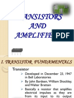 Transistors and Amplifiers (1)