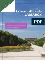 A Teoria Evolutiva de LAMARCK