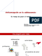 PETER DECAT_Anticoncepcion en Adolescencia