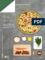 Cremiges Bärlauch-Risotto Mit Geschmorten Kirschtomaten, Mozzarella Und Parmesan