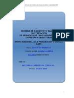 MODELO DE DOCUMENTO BASE DE CONTRATACIÓN DE SERVICIOS DE CONSULTORIA PARA EMPRESAS CONSULTORAS