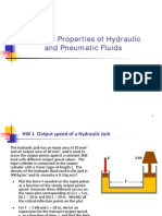 Physical Properties of Hydraulic Fluids