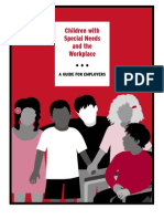 Employer Guide for Special Needs in the Workplace