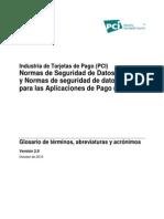 PCI Glossary