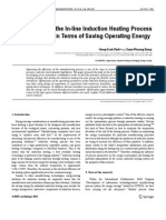 Optimization of the in-line Induction Heating Process