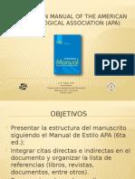 Presentacion guia APA