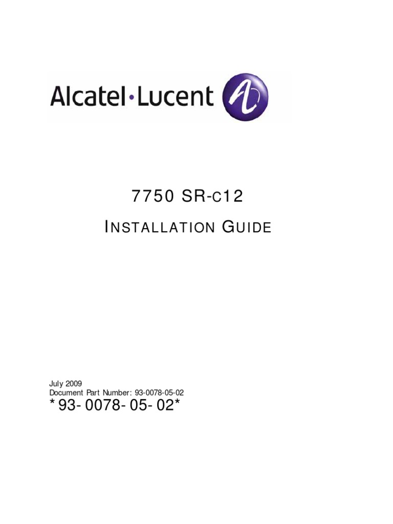7750 SR-c12 Installation Guide | Multiprotocol Label Switching
