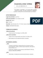 OSCAR DE LA CRUZ CV
