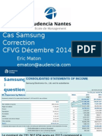 Correction Samsung