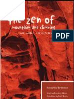 The Zen of the Mountains and Climbing