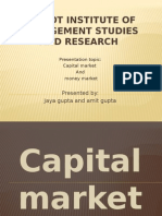 Capital and Money Market