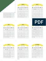 Descargable Calendario2015 Amarillo