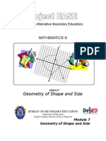 Module 7 - Geometry of Shape and Size 2
