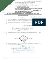 Model Question Paper CS Modified