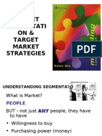Market Segmentation by Tahira Umair