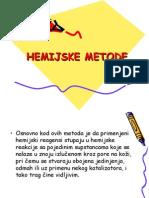 hemijske metode krim tehnika