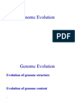 Genome Evolution Alumno
