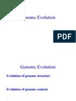 Genome Evolution Alumno