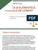 Noțiunea Și Elementele Fondului de Comerț