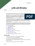 vibauthorCustomizing VIBs with VIB Author