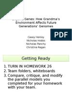epigenetics lecture