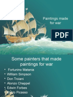 Paintings Made for War