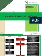 Analisis Pdu Huancayo - Urba 3