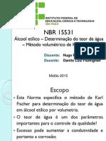 Apresentação NBR 15531