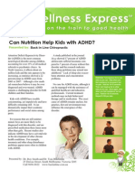 Can Nutrition Help Kids With ADHD