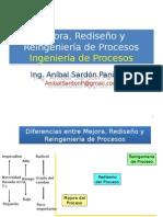 02- Mejora - Rediseño y Reingenieria de Procesos - Ingenieria Procesos