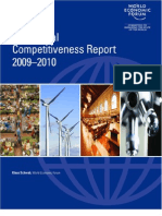 Extract From the Global Competitiveness Report 2009-2010