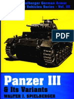 Schiffer - The Spielberger German Armor & Military Vehicles 3 - Panzer III & Its Variants