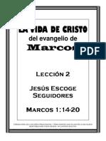 Jesus Escoge Seguidores