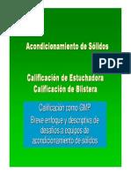 Calificación Estuchadora Blistera FINAL