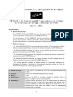 Presentation Du Projet 1 0