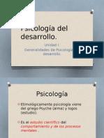 Psicologia Del Desarrollo, 1 Unidad
