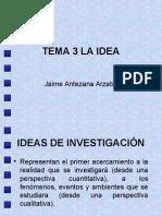 Ideas de Investigación