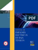 Manual Empalmes Electricos Baja Tensión