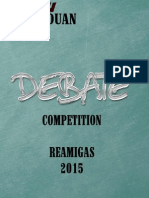 Guide Book Debate Competition-2015