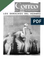 1951 UNESCO Periodico El Correo