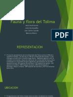 Fauna y Flora Del Tolima