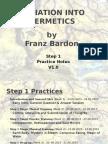 Franz Bardon International Practice Notes v1.0