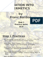 Franz Bardon International Practice Notes v1.0