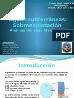 Subsidencia en Mexico DF